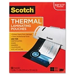 Scotch™ 3 mil Thermal Laminating Pouch