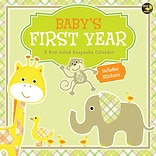 TF Publishing Babys First Year Undated Wall Calendar