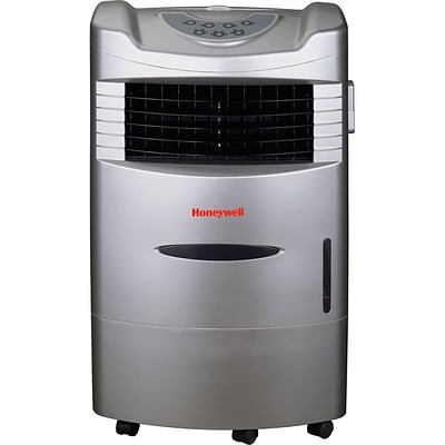 Honeywell® CL201AE 42 Pint Indoor Portable Evaporative Air Cooler With Remote Control, Silver