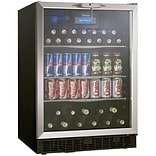 Danby® Silhouette® DBC514 5.3 cu.ft. Built-In Beverage Center, Black/Stainless Steel