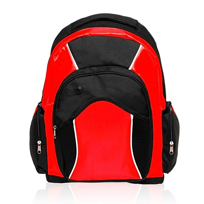 Natico Originals Sports and Travel Backpack, Red