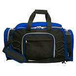 Natico Originals Multi Pocket Travel Duffel Bag, Blue