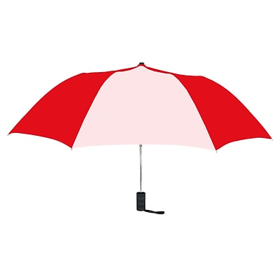 Natico Originals Spectrum Auto Open Umbrella, Red/White