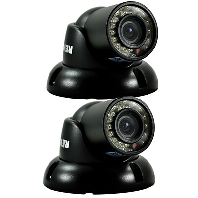REVO™ RCTS30-3BNDL2N 700 TVL Mini Turret Surveillance Camera W/100 Night Vision, 2/Pack