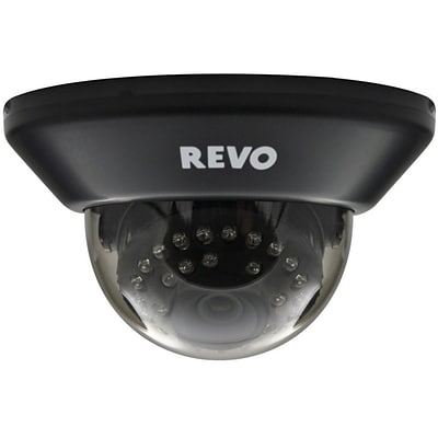 REVO™ RCDS30-3BNC 700 TVL Indoor Dome Surveillance Camera With 100 Night Vision