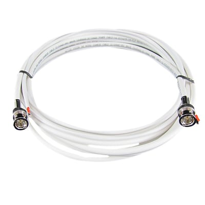 REVO™ RBNCR59 30 RG59 Siamese Cable For Use With BNC Type Cameras, White