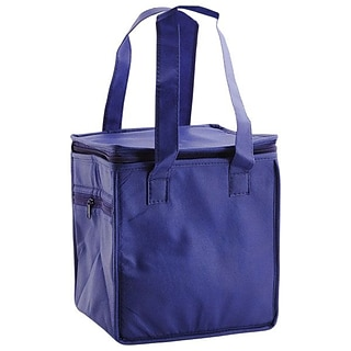 Shamrock Non-Woven Thermo Lunch Tote, Royal Blue, 8X6X8.5, 50/case pack