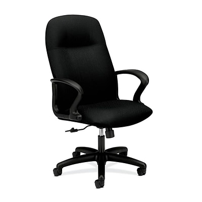 HON® Gamut® Executive High-Back Computer/Office Chair, Black