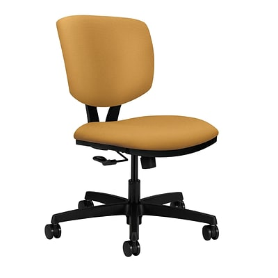 HON® Volt® Office/Computer Chair, Inertia Mustard Fabric