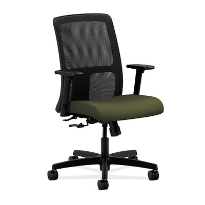 HON® Ignition® Mesh Low-Back Office/Computer Chair, Olivine