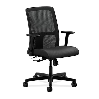 HON® Ignition® Mesh Low-Back Office/Computer Chair, Onyx