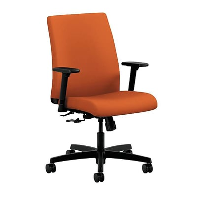 HON® Ignition® Low-Back Office/Computer Chair, Tangerine