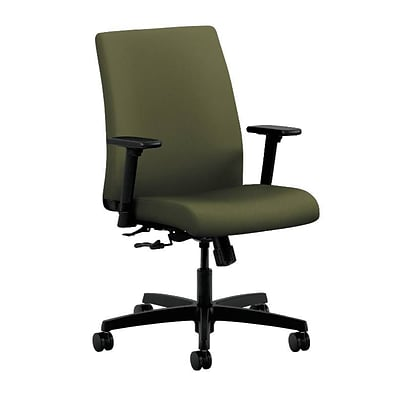 HON® Ignition® Low-Back Office/Computer Chair, Olivine