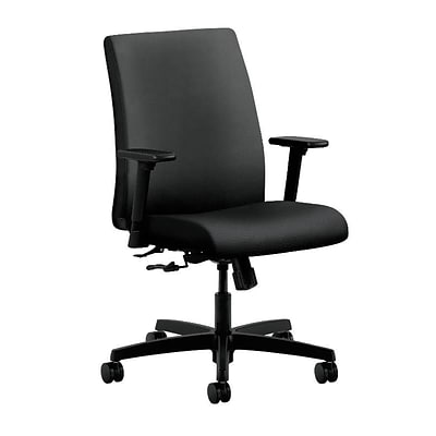 HON® Ignition® Low-Back Office/Computer Chair, Onyx