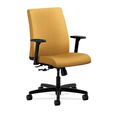 HON® Ignition® Low-Back Office/Computer Chair, Mustard