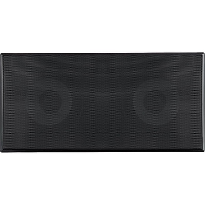 Pyle® PDIWCS56 300 W Dual Two-Way In-Wall Center Channel Sound System; Black