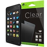 i-Blason Premium HD Screen Protector For Amazon Fire Phone, Clear, 3/Pack