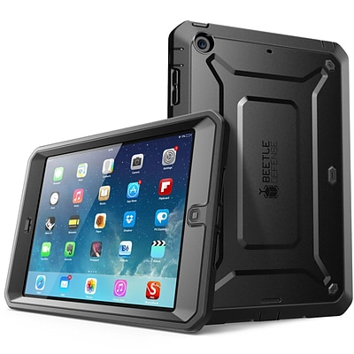 SUPCASE Beetle Defense Series Full body Hybrid Protective Case For Apple iPad Mini, Black/Black
