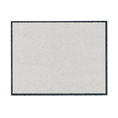 JAM Paper® Blank Note Cards, A2 size, 4.25 x 5.5, Grey Linen, 100/pack (1754868)