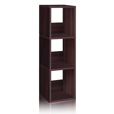 Way Basics® Eco Trio Narrow Storage Shelf, Espresso
