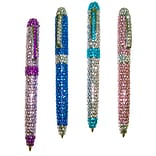 Inkology Glam Bedazzled Studs Retractable Ball Point Pen
