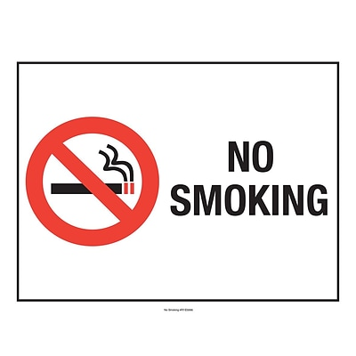 ComplyRight™ No Smoking Poster