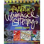 Interweave Press The Art Of Whimsical Lettering Paperback Book