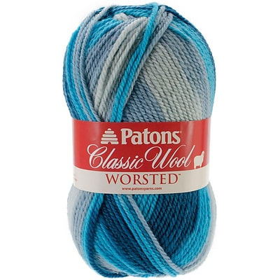 Spinrite® Patons® Classic Wool Yarn, Seabreeze