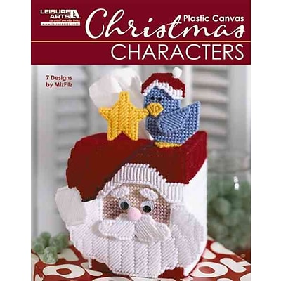 Christmas Characters in Plastic Canvas (Leisure Arts #5829)