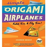 Simple Origami Airplanes Kit: Fold Em & Fly Em!