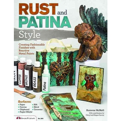 Rust and Patina Style: Creating Fashionable Finishes with Reactive Metal Paints