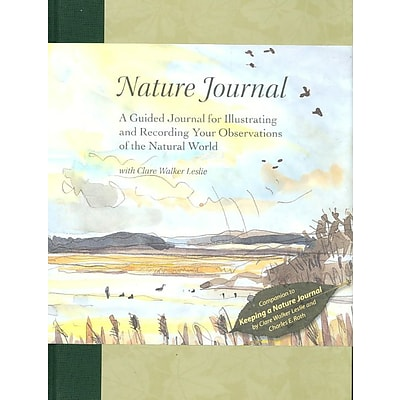 Nature Journal: A Guided Journal for Illustrating & Recording Your Observations of the Natural World