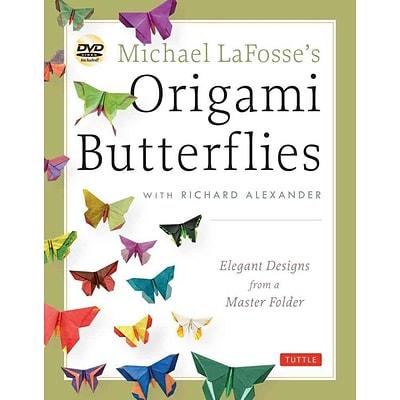 michael lafosses origami butterflies quillcom