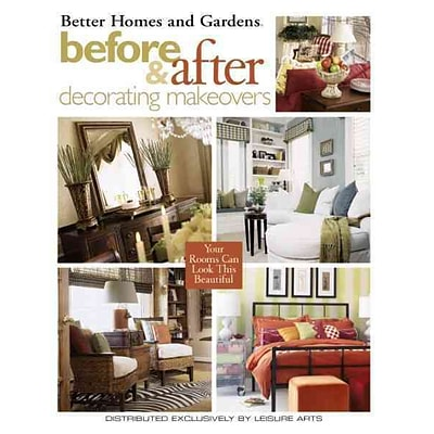 Before & After Decorating Makeovers (Leisure Arts #3520)