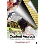 Content Analysis by Krippendorff
