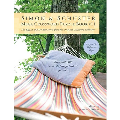 Simon & Schuster Mega Crossword Puzzle Book #11