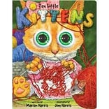 Ten Little Kittens Board Book: An Eyeball Animation Book