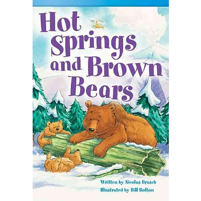 Hot Springs and Brown Bears (library bound) (Read! Explore! Imagine! Fiction Readers)