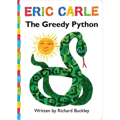 The Greedy Python: Lap Edition (The World of Eric Carle)