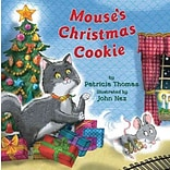 Mouses Christmas Cookie by Patricia Thomas