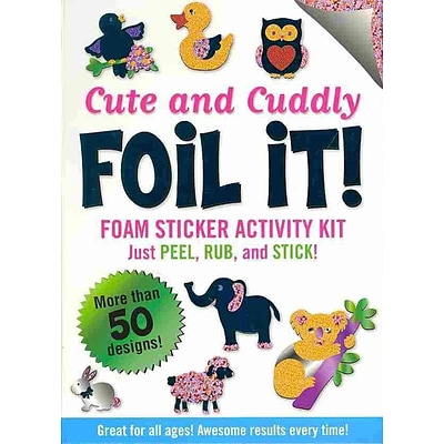 Cute & Cuddly Foil It!(foam sticker activity kit)