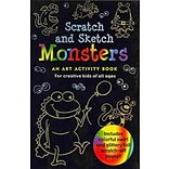 Monsters Scratch and Sketch by Lee Nemmers