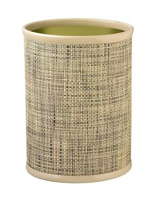 Kraftware Woven 3.25 Gallon Waste Basket; Desert