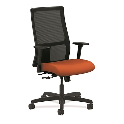 HON® Ignition® Mesh Mid-Back Office/Computer Chair, Tangerine