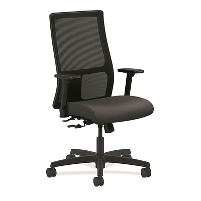 HON® Ignition® Mesh Mid-Back Office/Computer Chair, Fog