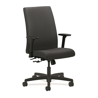 HON® Ignition® Mid-Back Office/Computer Chair, Charcoal