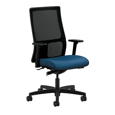 HON® Ignition® Mid-Back Office/Computer Chair, Adjustable Arms, Inertia Regatta Fabric