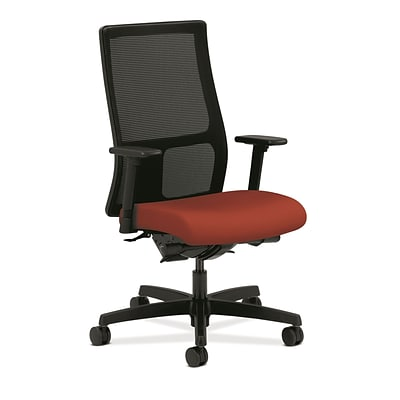 HON® Ignition® Mid-Back Office/Computer Chair, Arms, Poppy