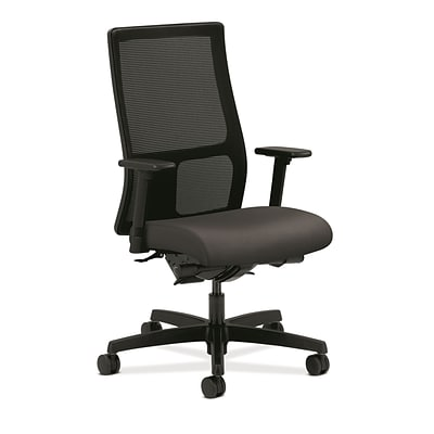 HON® Ignition® Mid-Back Office/Computer Chair, Arms, Fog