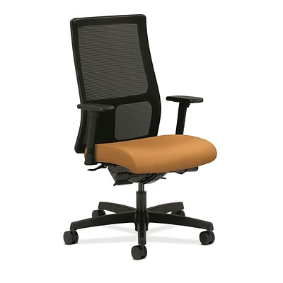 HON® Ignition® Mid-Back Office/Computer Chair, Arms, Mustard